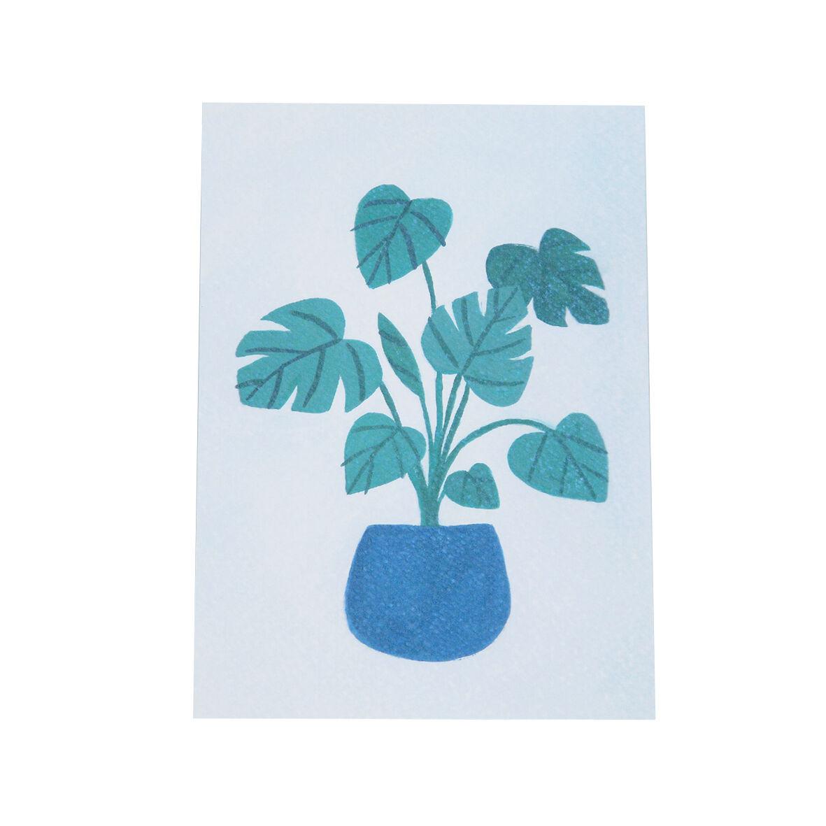 Dille&Kamille Carte, plante verte en pot
