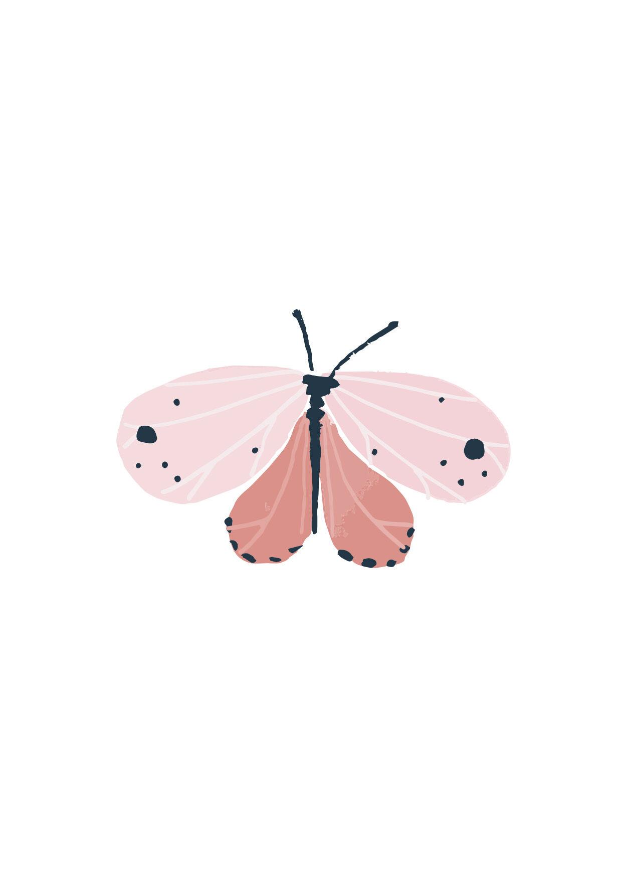 Dille&Kamille Carte, papillon