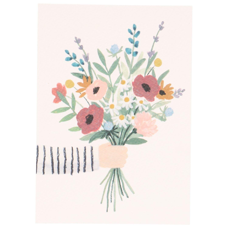 Dille&Kamille Carte, bouquet de fleurs