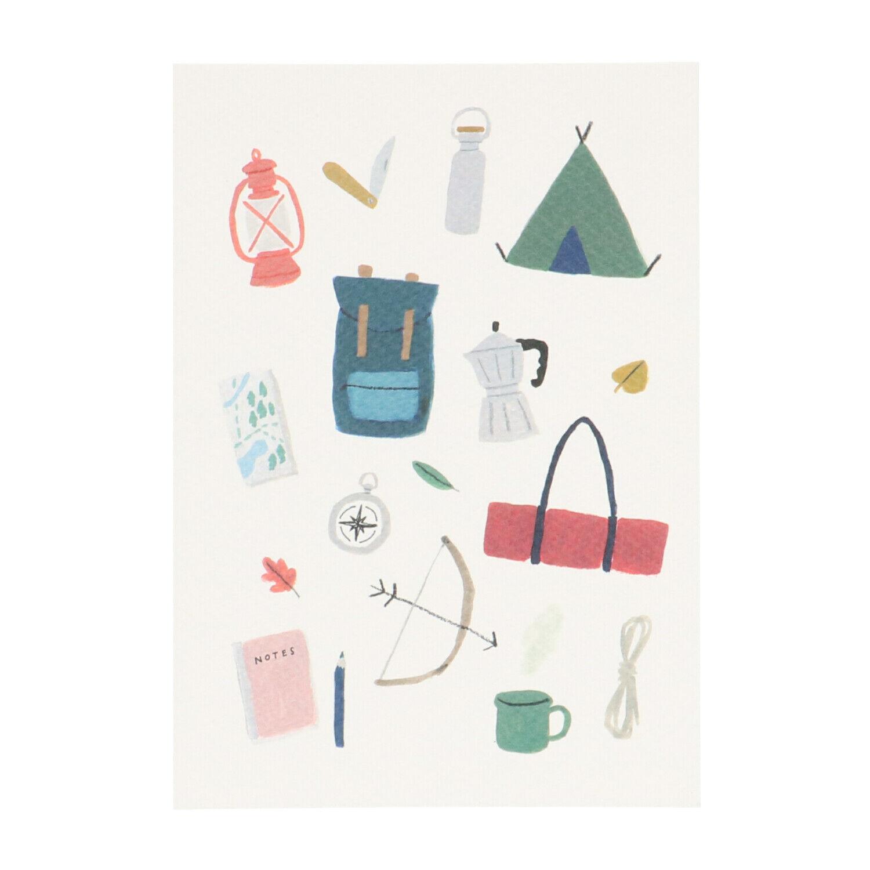 Dille&Kamille Carte, matériel de camping