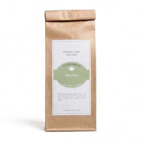 Dille&Kamille Thé vert, Sencha, 75 grammes