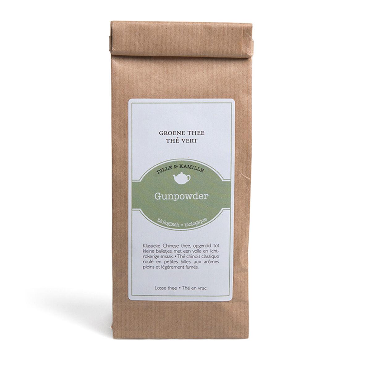 Dille&Kamille Thé vert, Gunpowder, 75 g