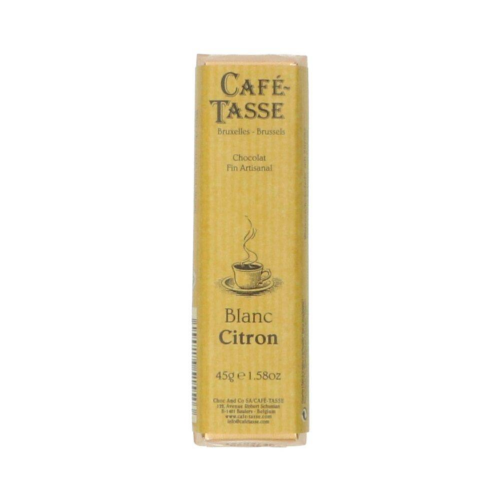 Dille&Kamille Chocolat, blanc au citron, 45 g