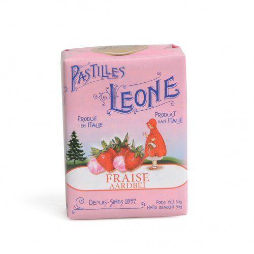 Dille&Kamille Pastilles, fraise, 30 grammes