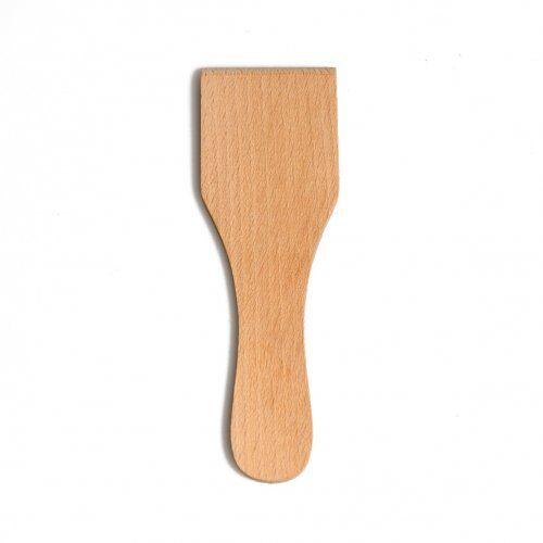 Dille&Kamille Spatule droite en bois de hêtre, 13 cm