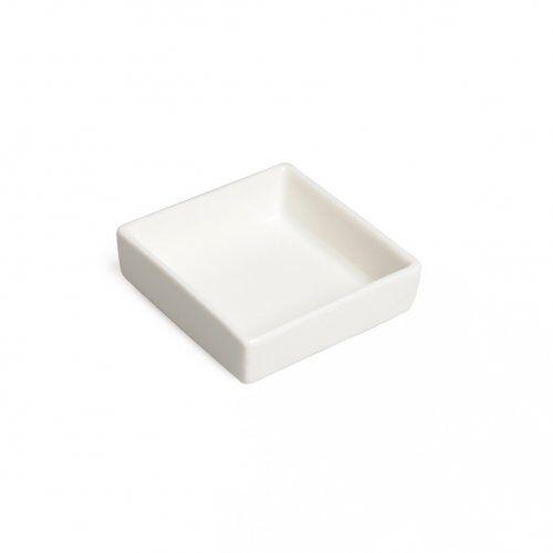 Dille&Kamille Petit plat en porcelaine carré, 6 x 6 x 2 cm