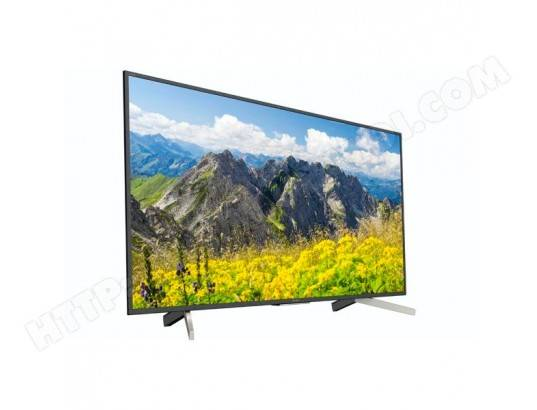 SONY TV intelligente Sony KD49XF7596 49\ Ultra HD 4K HDR WIFI Noir