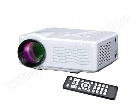 YONIS Vidéoprojecteur LED 800 Lumens Mini Projecteur USB HDMI VGA Carte SD