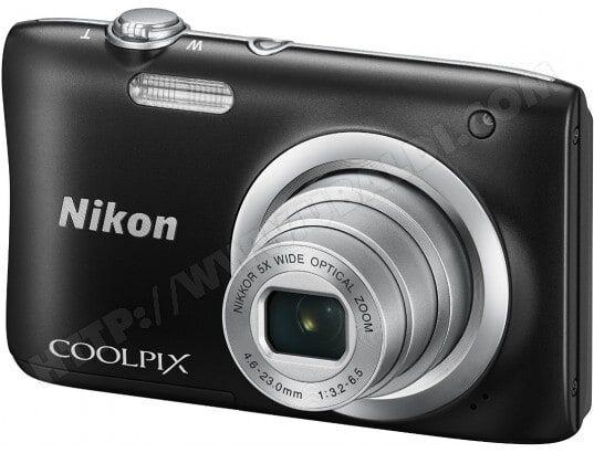 NIKON Appareil photo numérique compact CoolPix A100 noir