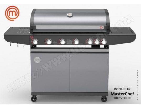 MasterChef - Barbecue à gaz 6 brûleurs