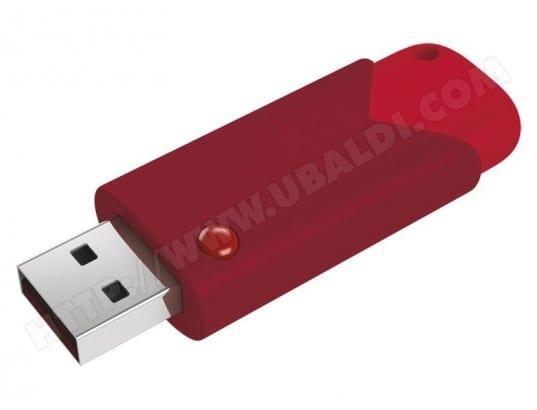 EMTEC Clé USB 8Go EMTEC Fast Click 3.0 100MB/s Blister