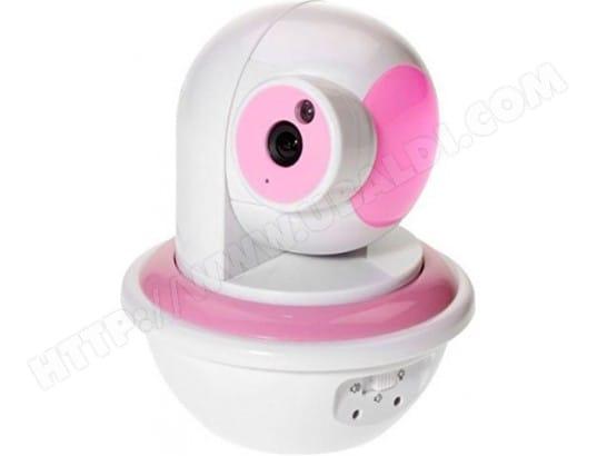 YOO DIGITAL BabyPhone Vidéo Connecté - Wireless - Vision Nocturne - Rose [Babyphone]