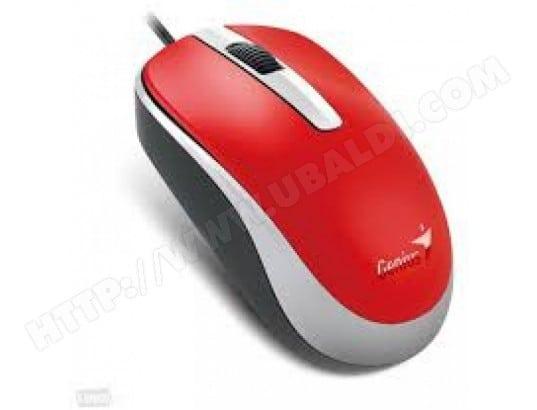 GENIUS Souris filaire Genius DX-120 USB (Rouge)