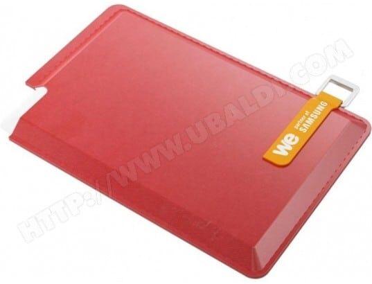 WE Disque dur externe We 250 Go SSD USB 3.0 - 2,5 avec housse (Rouge)