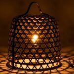 BOIS DESSUS BOIS DESSOUS Lampe à poser en bambou noir et métal BOIS DESSUS... par LeGuide.com Publicité