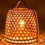 BOIS DESSUS BOIS DESSOUS Lampe à poser en bambou naturel et métal BOIS... par LeGuide.com Publicité