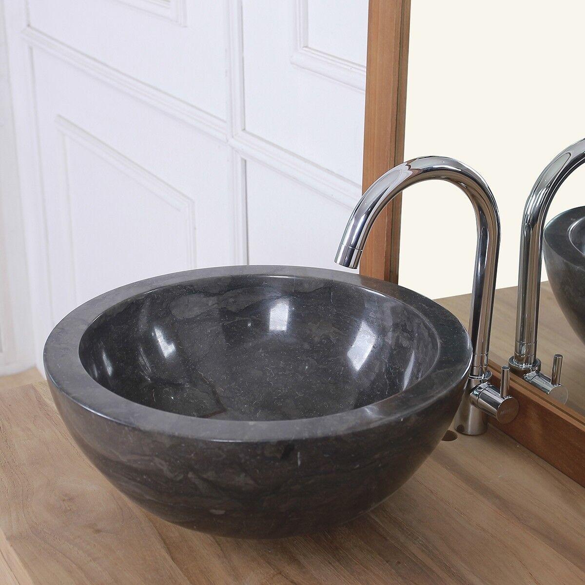 BOIS DESSUS BOIS DESSOUS Vasque bol en pierre de marbre BOIS DESSUS BOIS DESSOUS