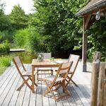 BOIS DESSUS BOIS DESSOUS Salon de jardin en bois d'acacia FSC 4... par LeGuide.com Publicité
