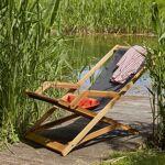 BOIS DESSUS BOIS DESSOUS Transat en bois d'acacia FSC et textilène... par LeGuide.com Publicité