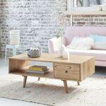 BOIS DESSUS BOIS DESSOUS Table basse en bois de mindy avec tiroir BOIS... par LeGuide.com Publicité