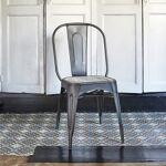 BOIS DESSUS BOIS DESSOUS Chaise en métal brossé et bois de pin recyclé... par LeGuide.com Publicité