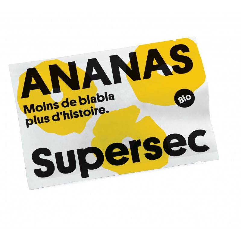 Supersec Ananas snacking - 22g