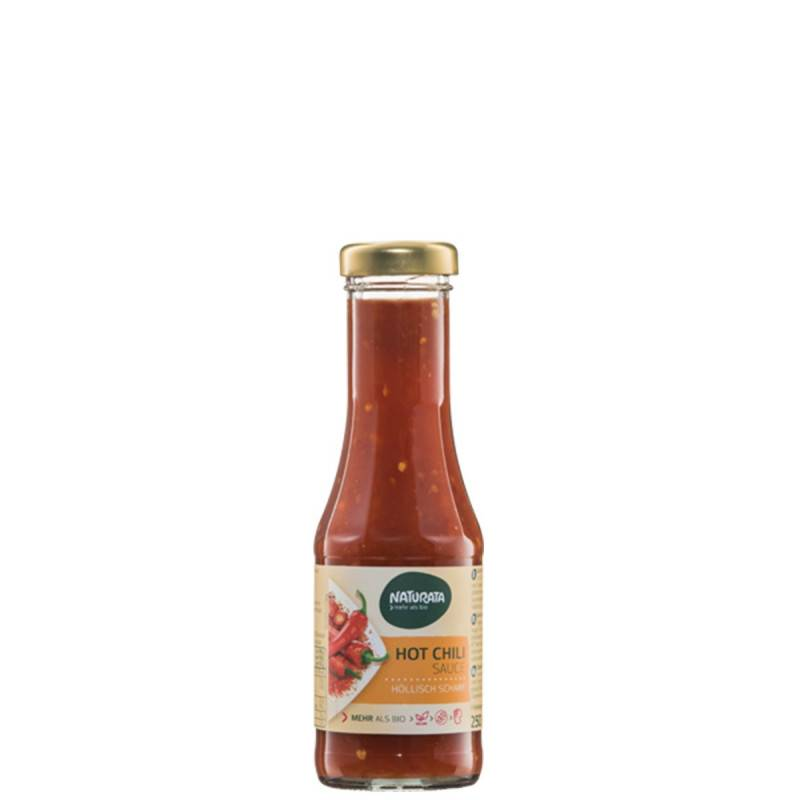 Naturata Sauce pimentée chili hot - 250ml