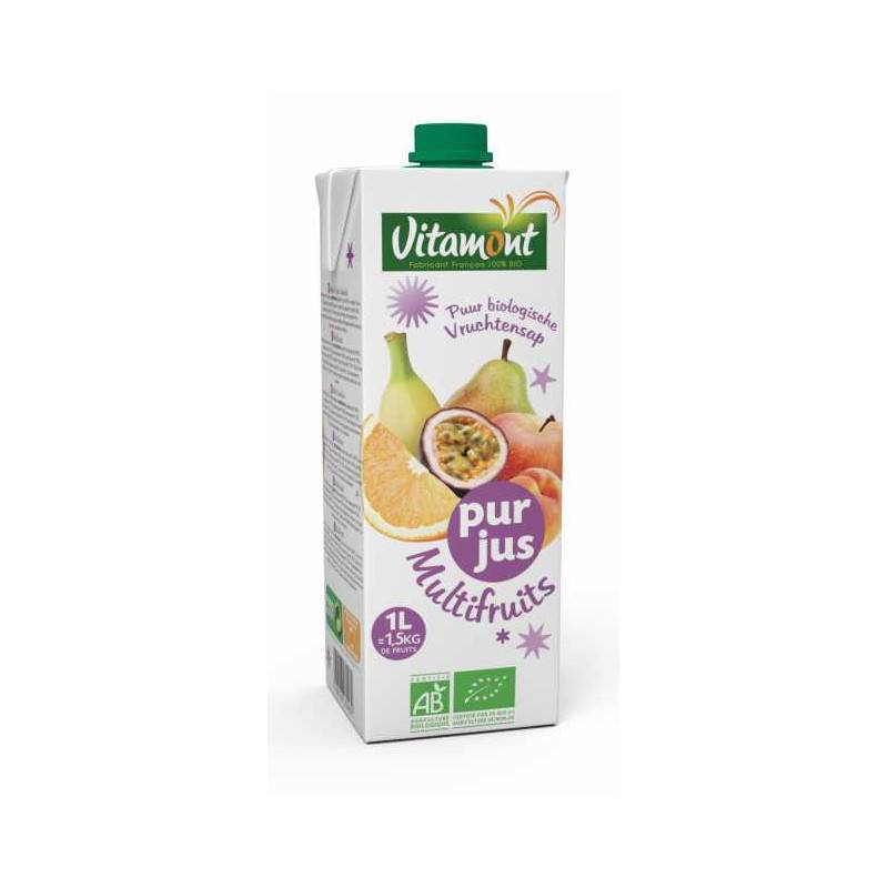 Vitamont Jus multifruits brique - 1l