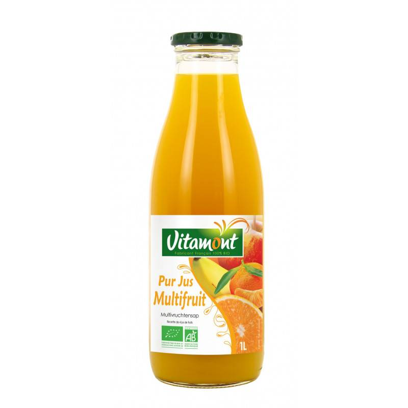 Vitamont Pur jus multifruits - 1L