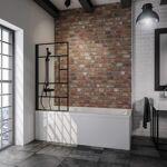 schulte  Schulte Pare baignoire 130 cm, verrière industrielle, profilé... par LeGuide.com Publicité