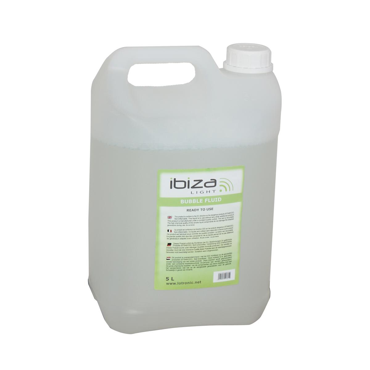 Ibiza Light Liquide bulle 5 litres - BUBBLE5L