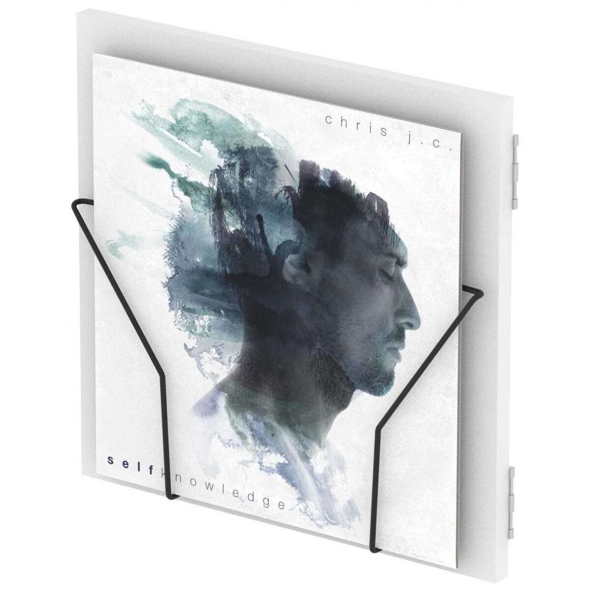 Glorious DJ RECORD BOX DISPLAY DOOR WHITE