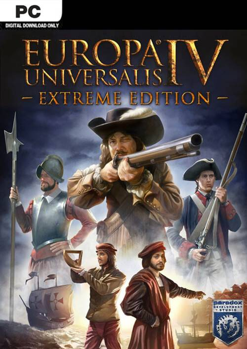 Paradox Interactive Europa Universalis IV 4 Extreme Edition PC