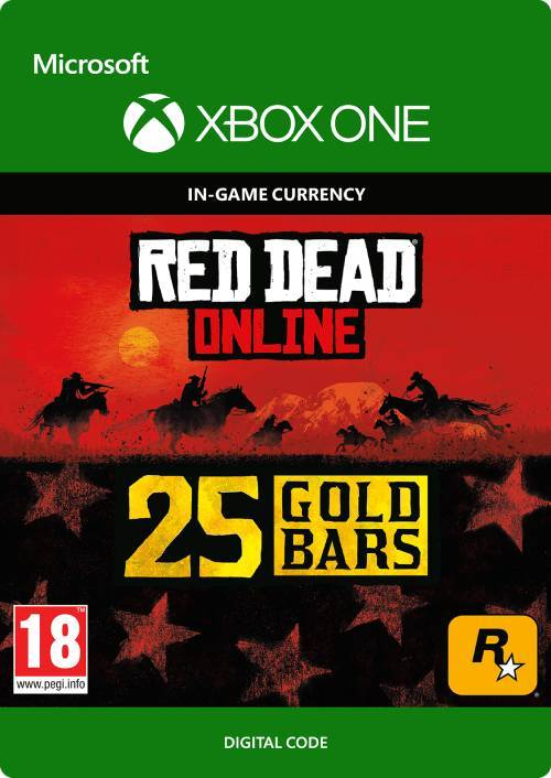 Rockstar Games Red Dead Online: 25 Gold Bars Xbox One