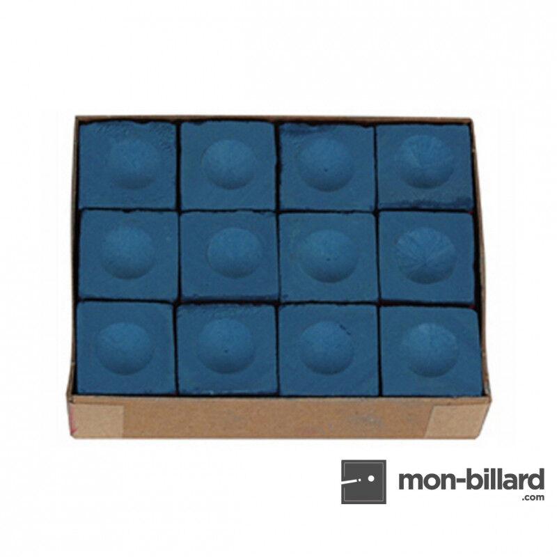 Master Billard Boite de 12 craies Master bleues