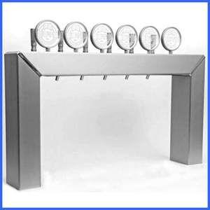 TOF Colonne Argeles en aluminium pour pompe à bière avec de 3 à 8 conduits