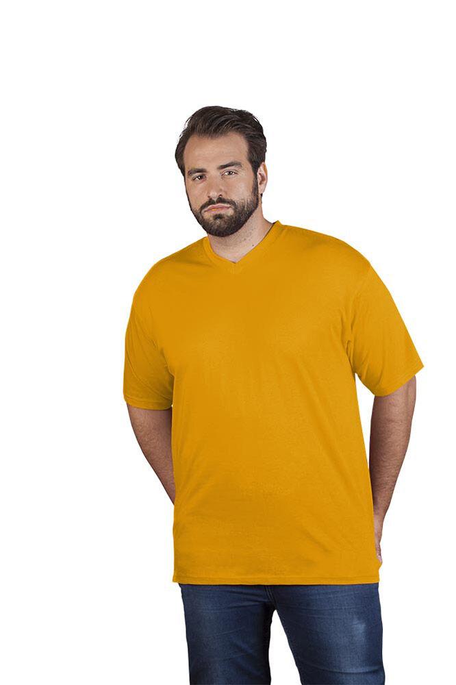 promodoro T-shirt Premium col V grandes tailles Hommes