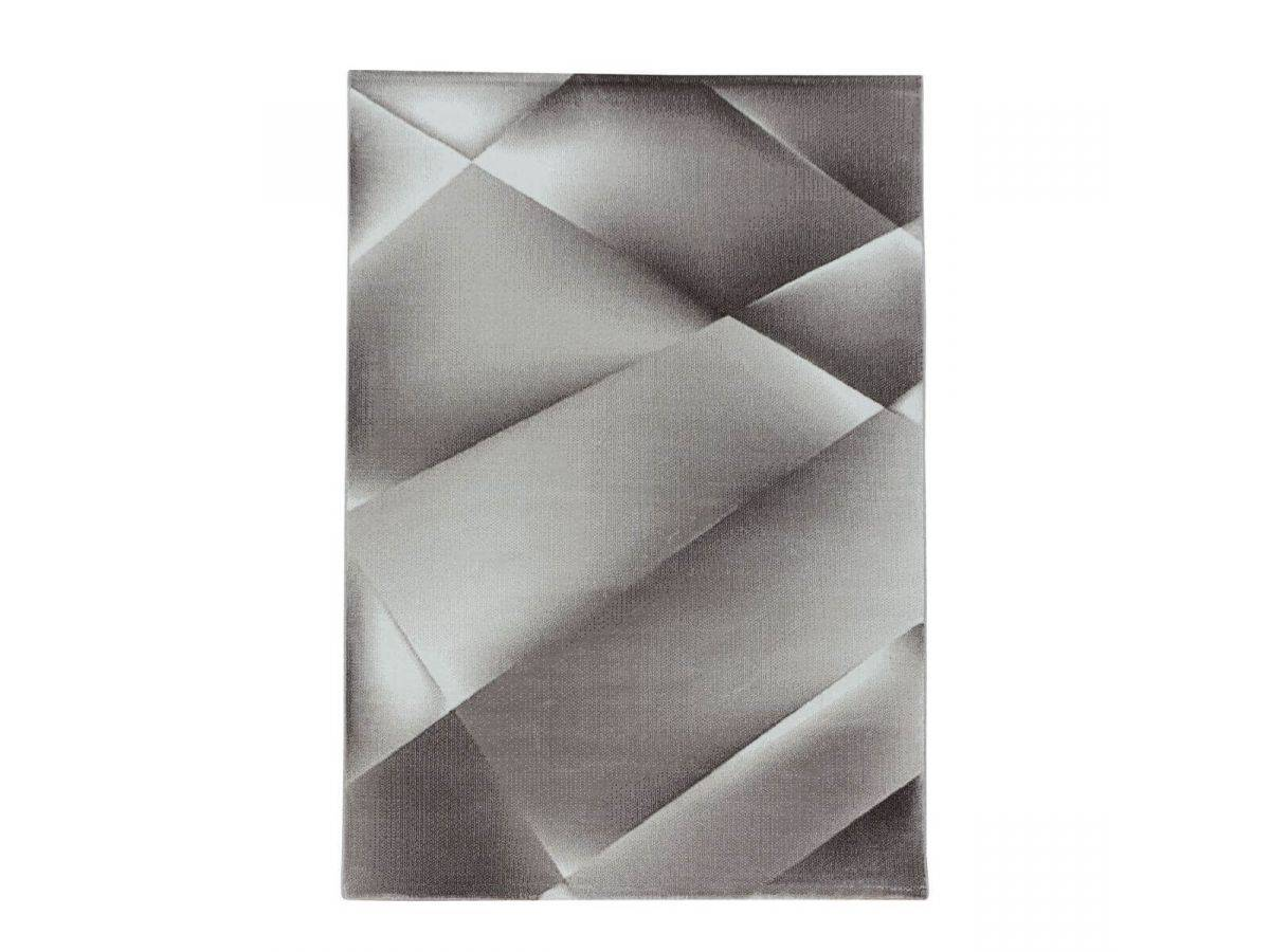 BOBOCHIC Tapis style contemporain KYETO motif graphique Marron 120x170