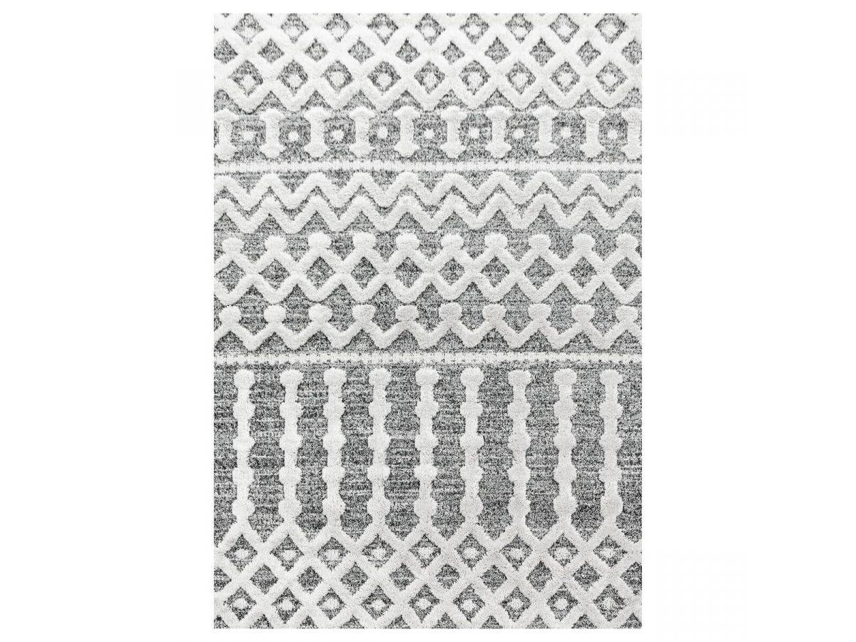 BOBOCHIC Tapis MAROC Gris 140x200