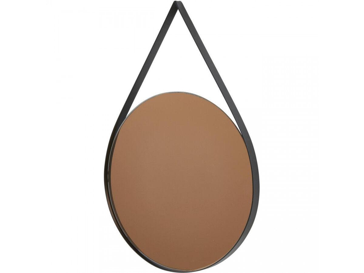 BOBOCHIC Miroir rond TORN en métal