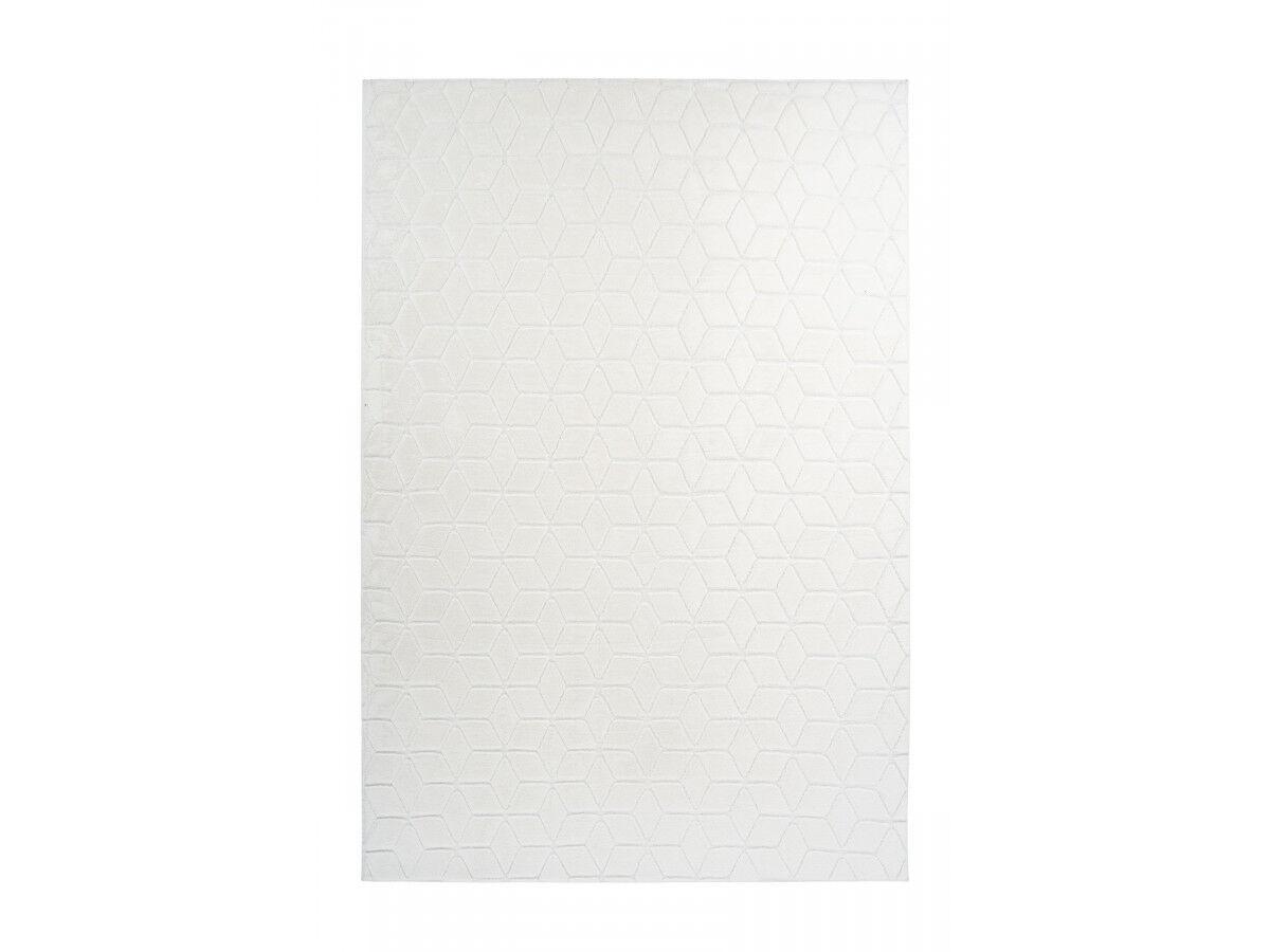 BOBOCHIC Tapis SIGMA Blanc 120cm x 160cm
