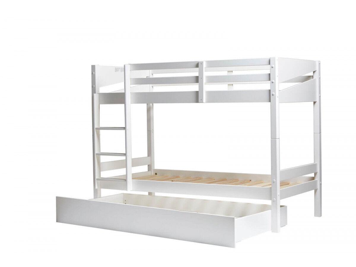 BOBOCHIC Tiroir pour lit superposé ALVA Blanc