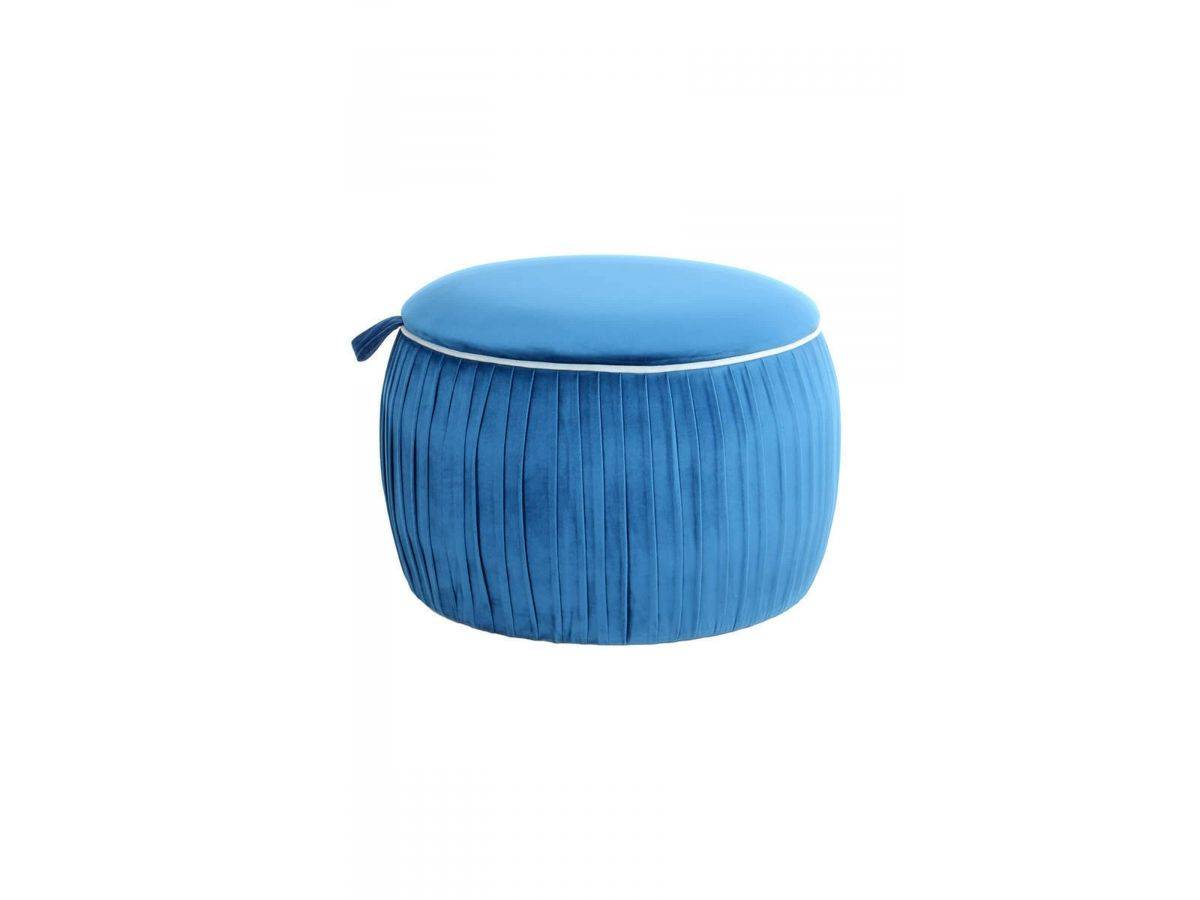 BOBOCHIC Pouf SILA Bleu