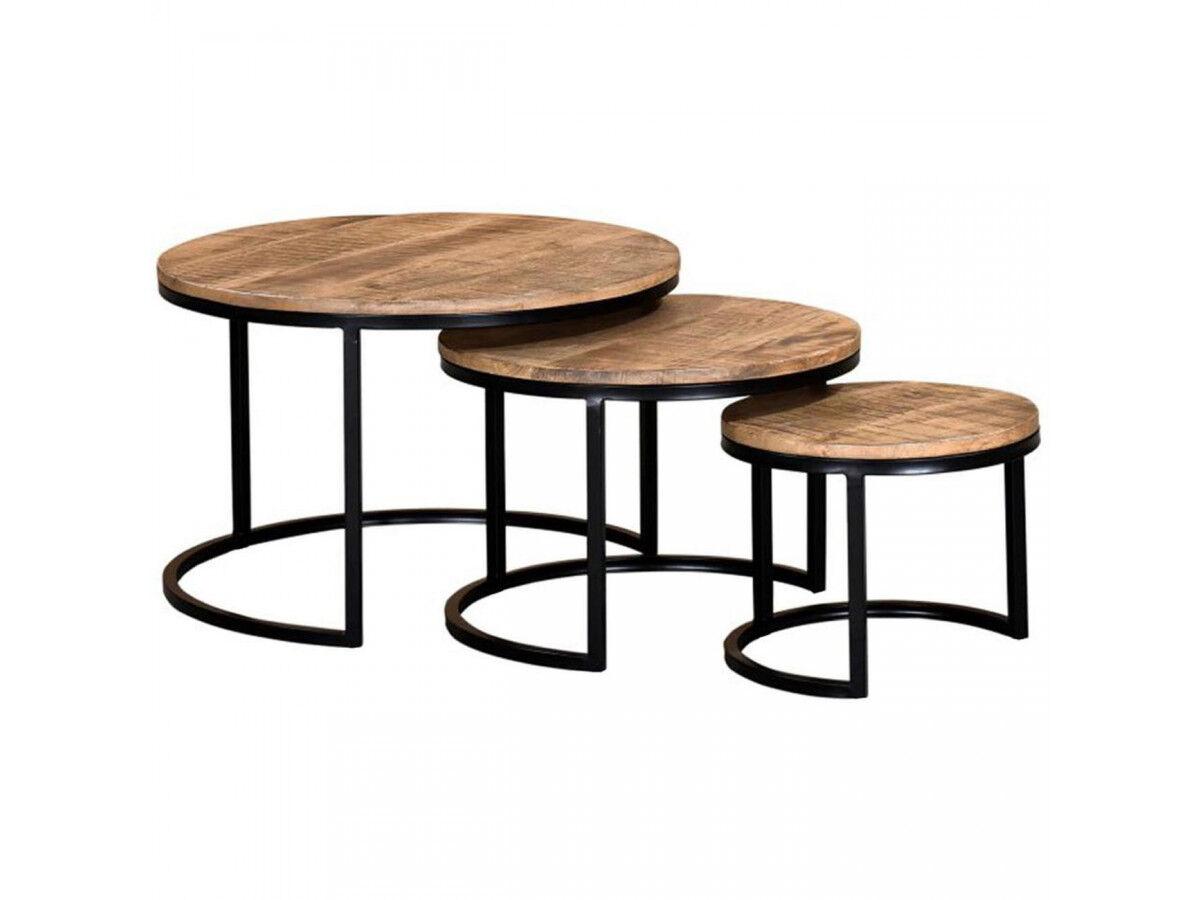 BOBOCHIC Set 3 tables BANGALO