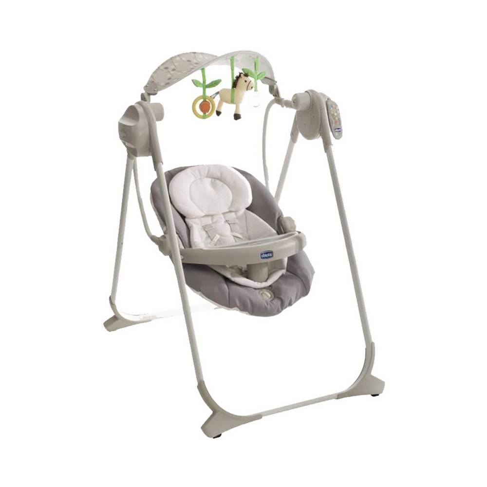 Chicco Balancelle polly swing up GRIS Chicco