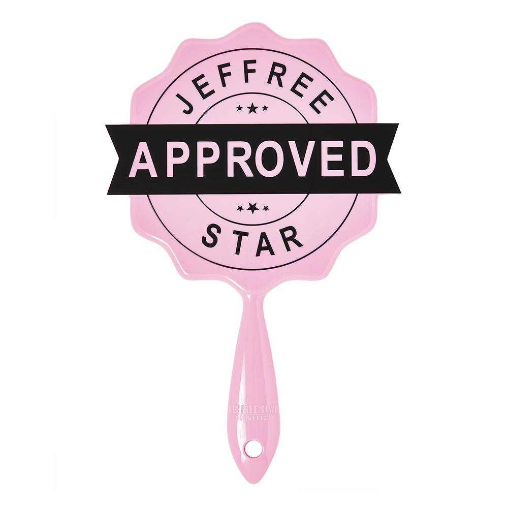 Jeffree Star Cosmetics Baby Pink Approved Stamp Mirror