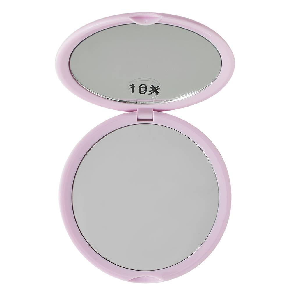 KimChi Chic Beauty Round Mirror Lavender