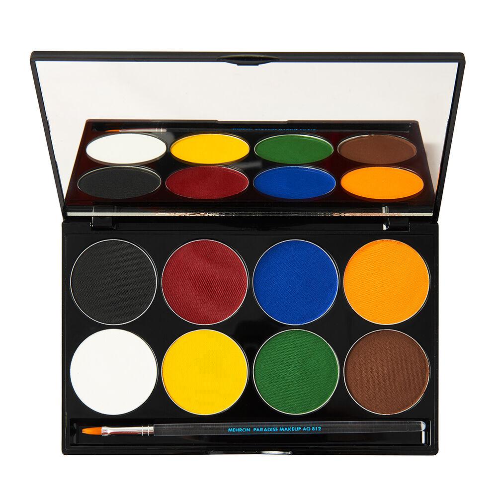 Mehron Paradise Makeup AQ 8 Color Palette Basic 48g