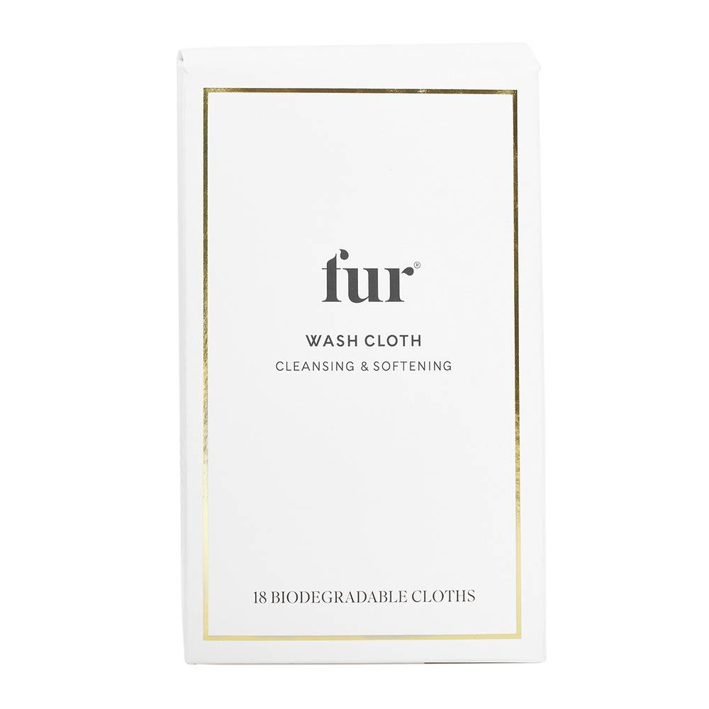 Fur Wash Cloths