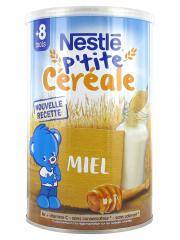 Nestlé P'tite Céréale 8 Mois et + Miel 400 g - Boîte 400 g